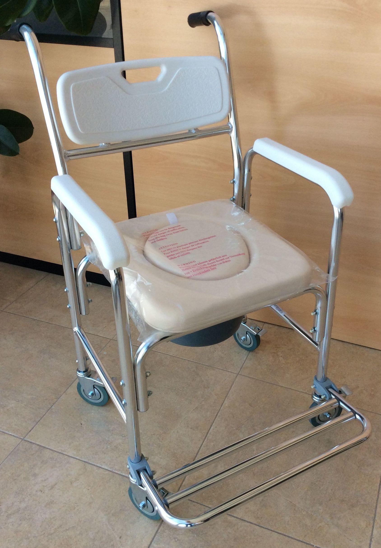 Silla Inodoro Aluminio: Productos y servicios de Ortopedia Delgado, S. L.
