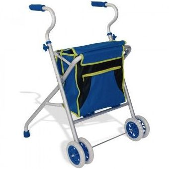 Andador de Aluminio con cesta: Productos y servicios de Ortopedia Delgado, S. L.