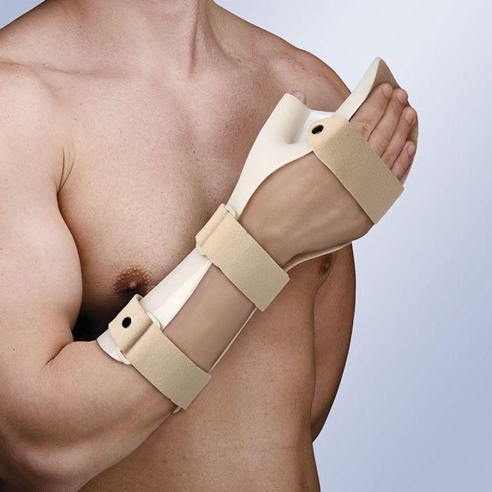 Férula inmovilizadora de mano en posición funcional y oposición del pulgar: Productos y servicios de Ortopedia Delgado, S. L.