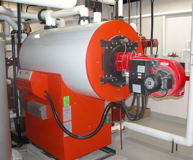 Instalación de sala de calderas en Móstoles