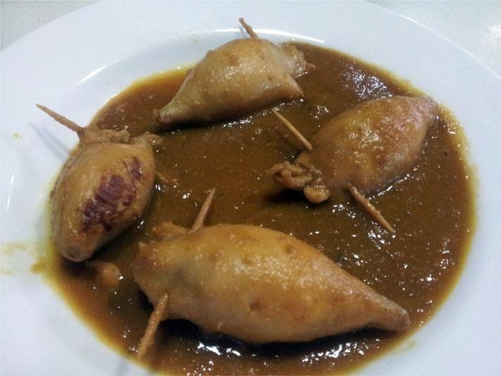 Menú nº 1: Nuestros platos de La Espuela