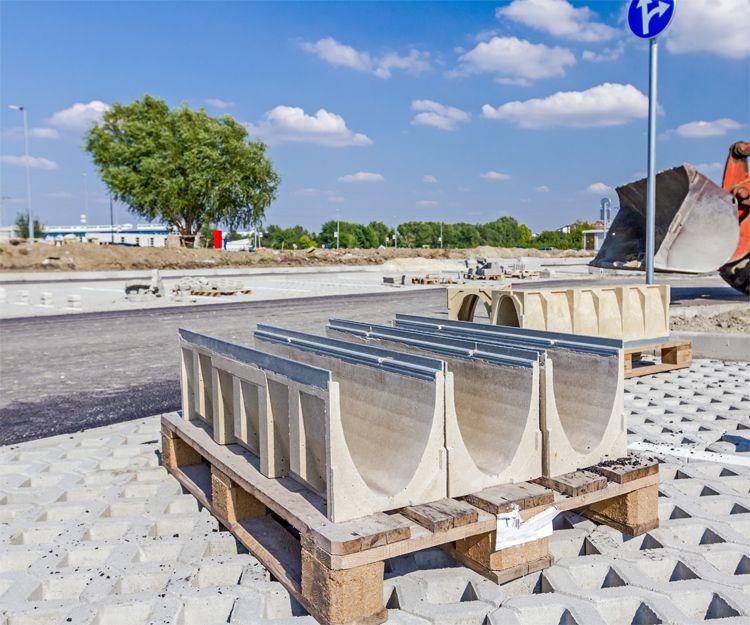 Paneles prefabricados de hormigón en Jaén