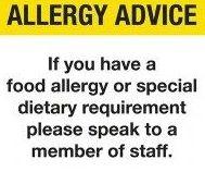Alergias i intolerancias/Allergy Advice