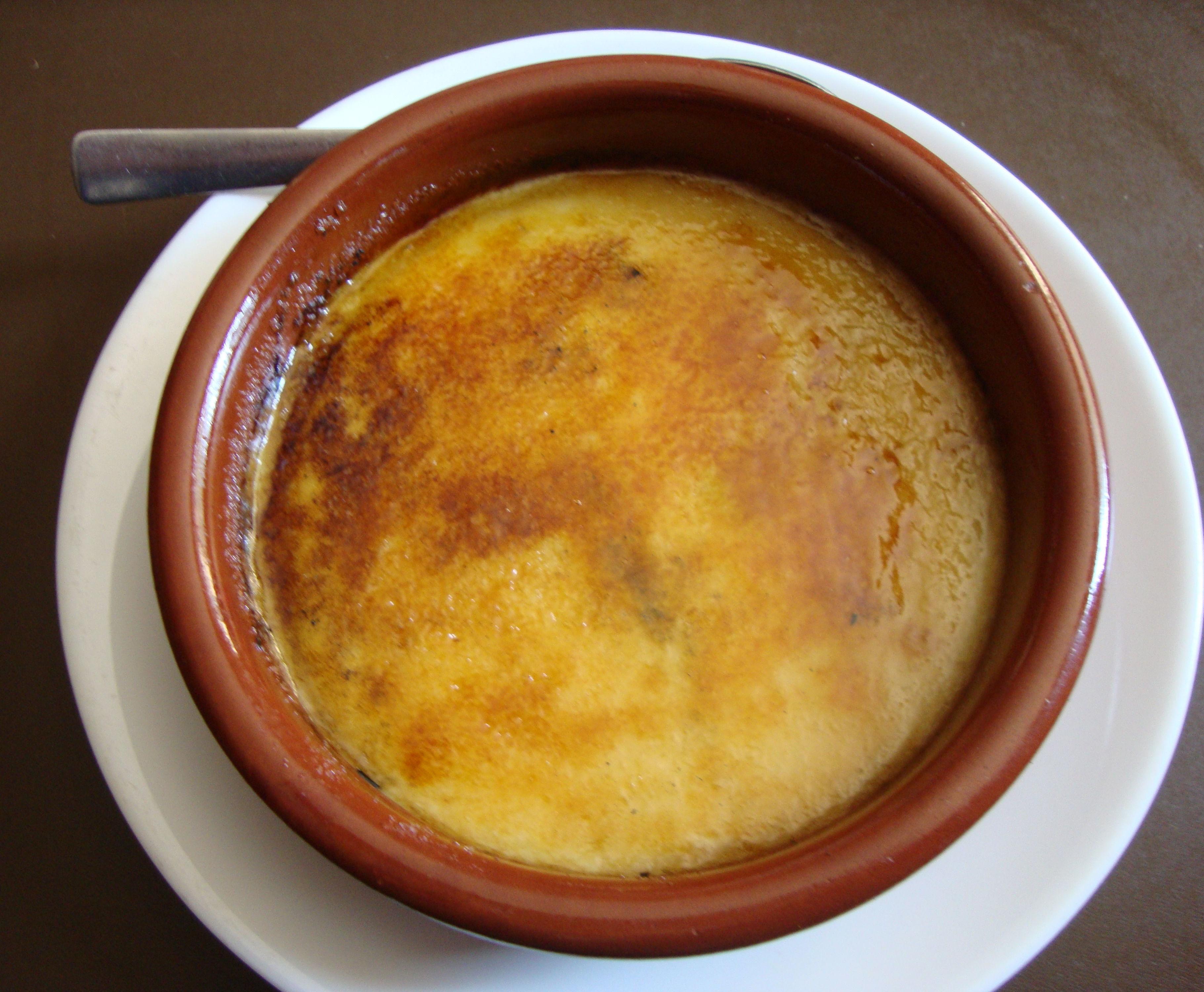 Crema Catalana Casera