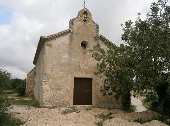 Una imatge de l'ermita de Sant Ramon del Catllar, situada al costat del riu Gaià.