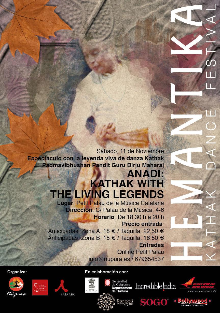 Petit Palau: Festival de KATHAK HEMANTIKA