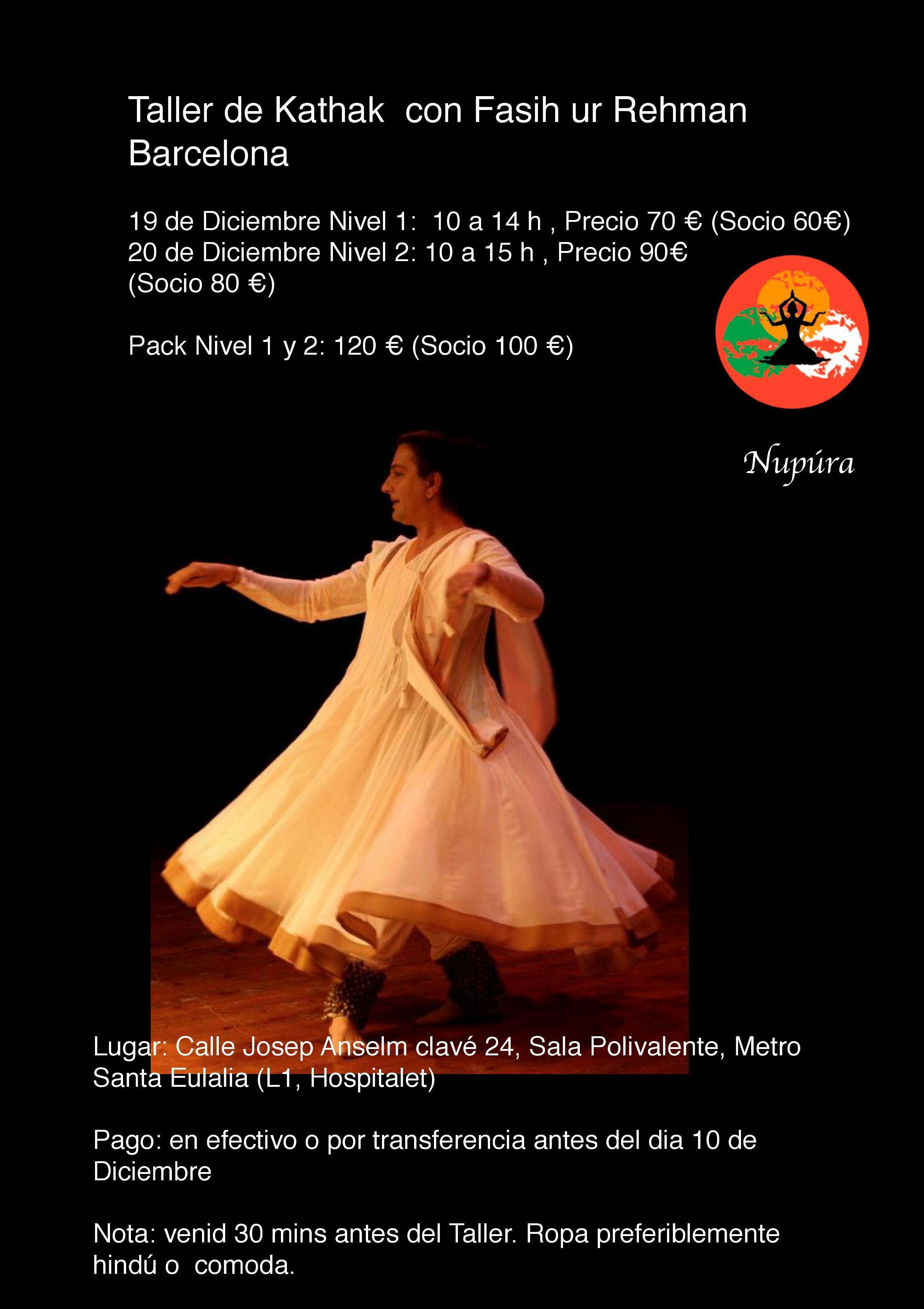 Foto 18 de Música y danza clásica del sur de Asia en Barcelona   Núpura