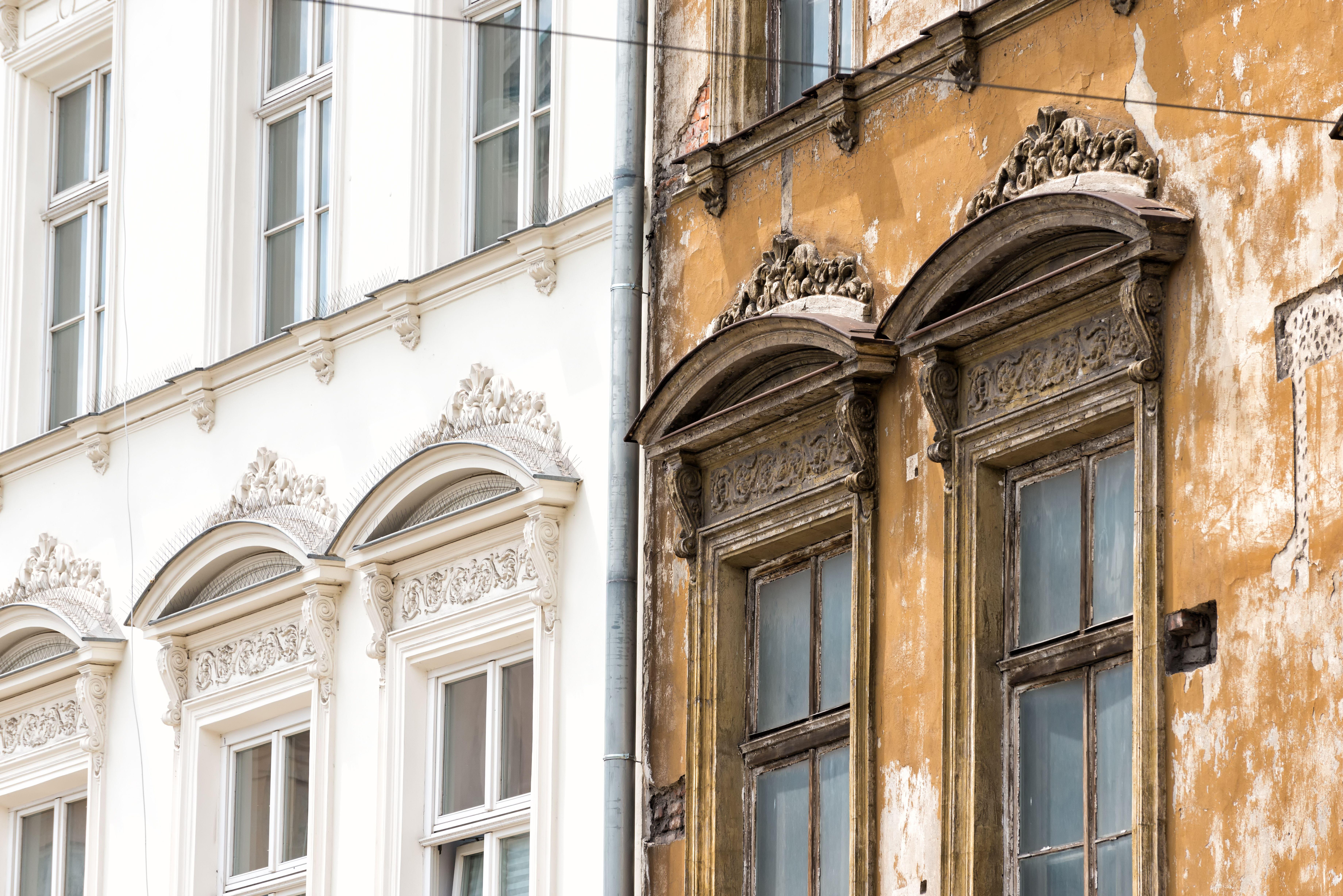 Rehabilitación de fachadas: Servicios de Cosampre
