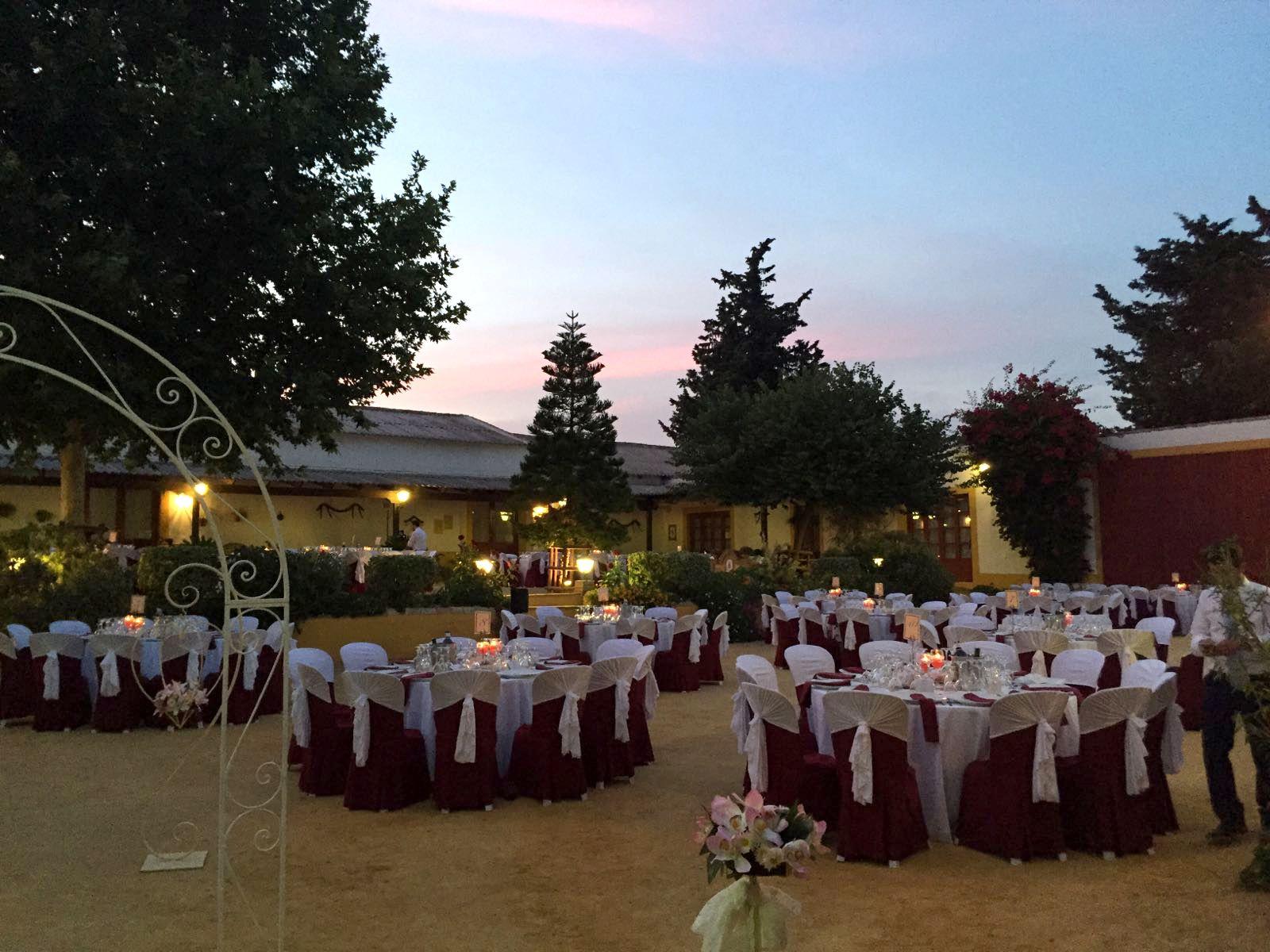 Alquiler de hacienda o salón: Servicios de Catering José Román