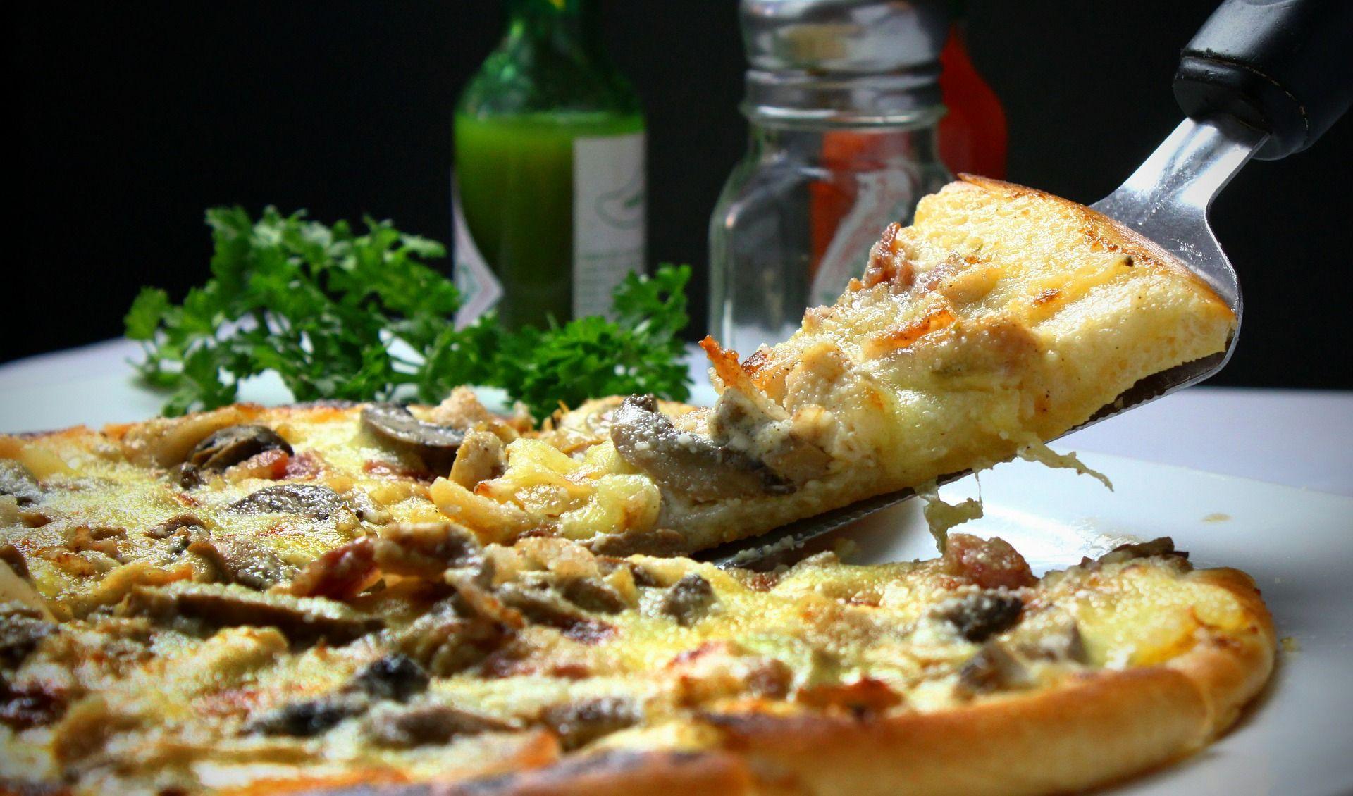 Pizza al horno de piedra en Mallorca