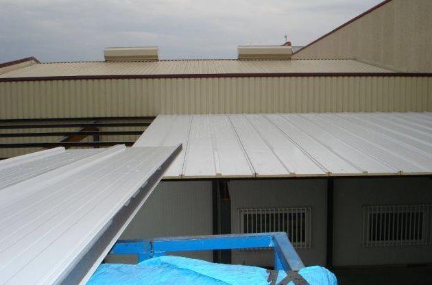 Montaje de cubiertas