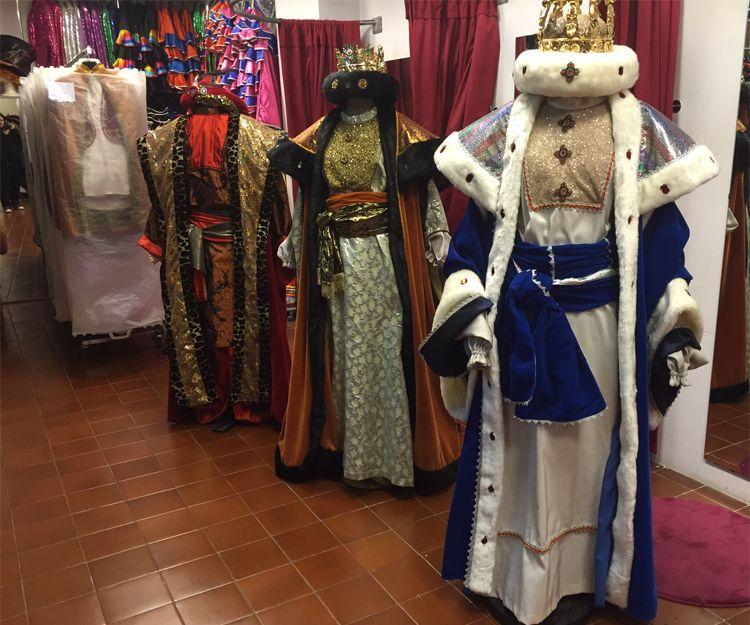 Disfraces de los Reyes Magos