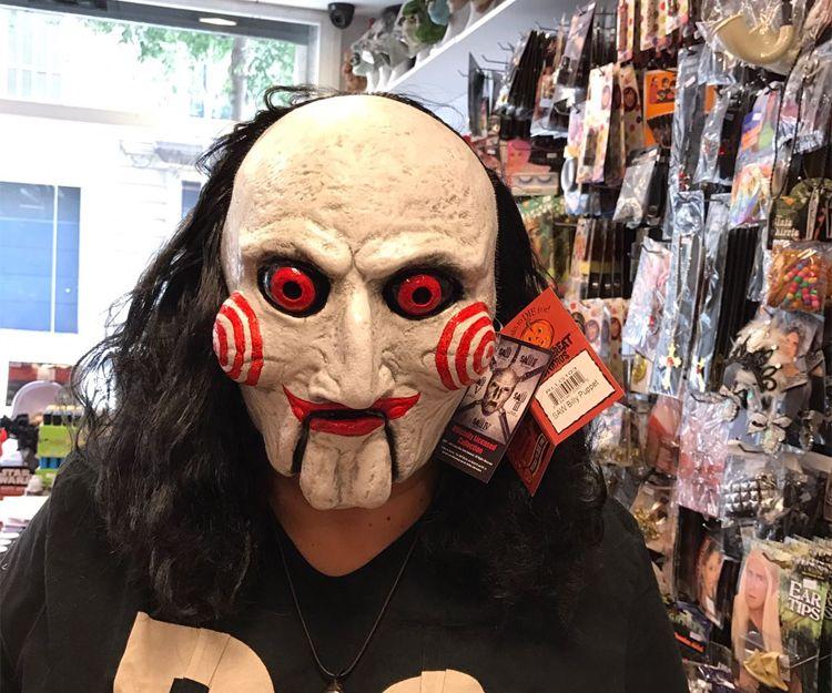 Máscaras para disfraces en Barcelona