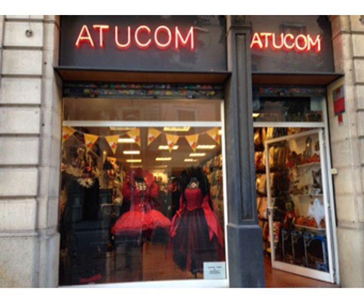 Fachada de nuestra tienda en Barcelona