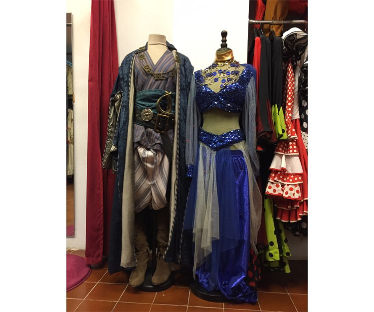 Disfraces orientales en Barcelona