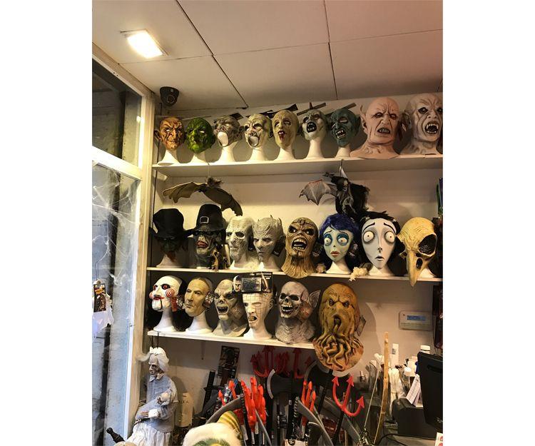Gran variedad de máscaras