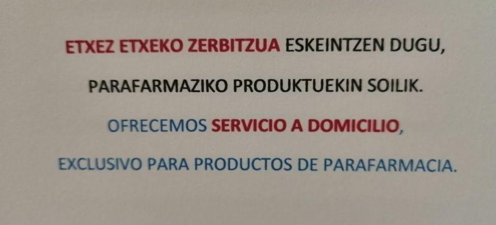 Foto 1 de Farmacia en  | GARIKOITZ ALDABE ROMERO