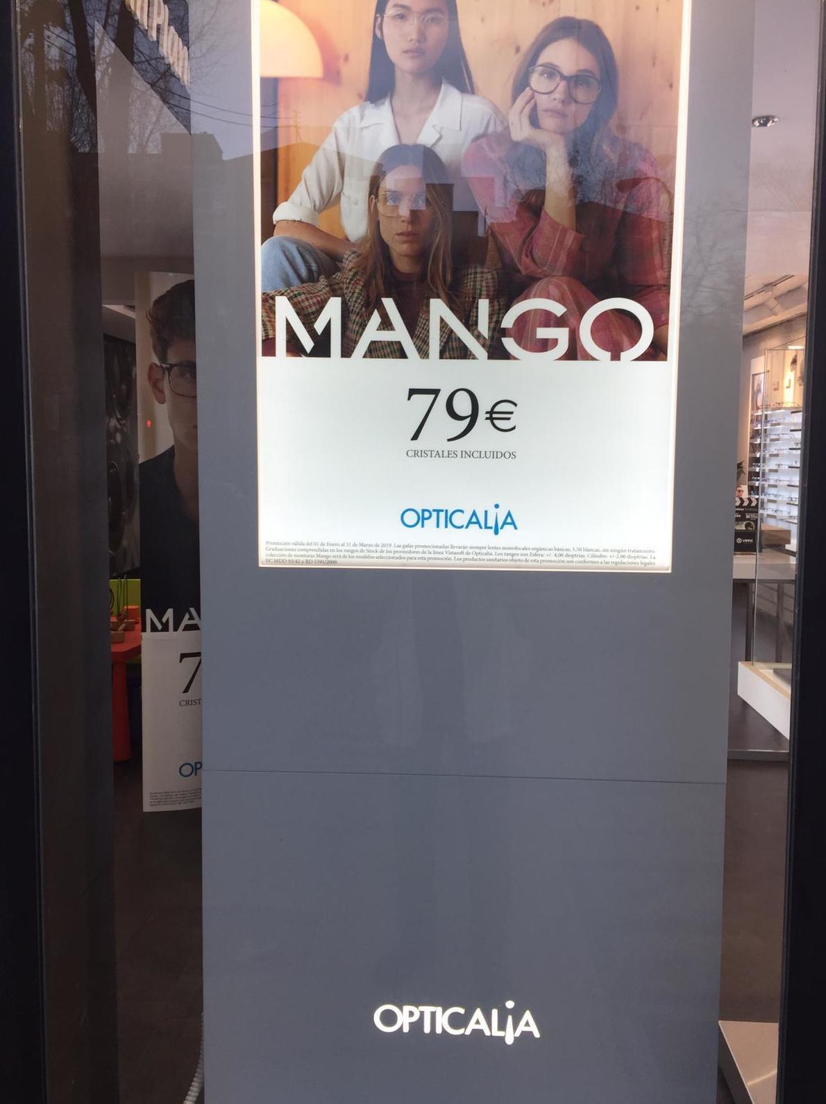 Ofertas Mango. 79€ con cristales incluídos