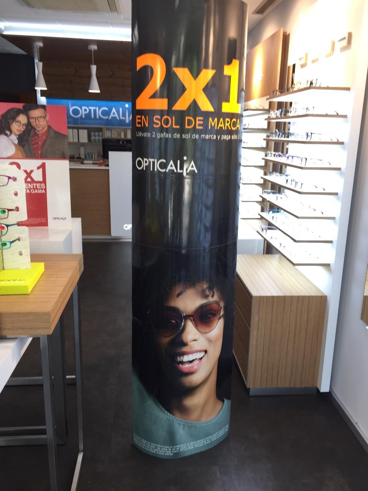 2x1 en tus gafas de sol de marca!