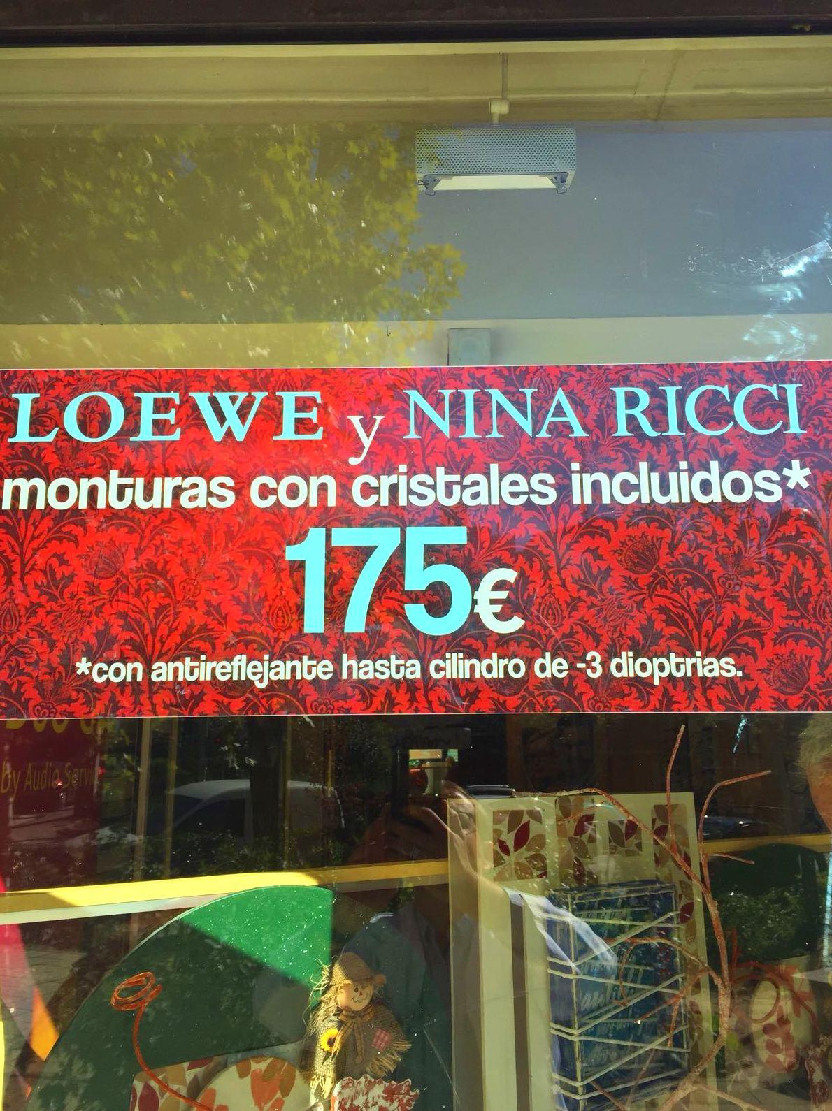 No te pierdas nuestra promoción de monturas y cristales por 175€