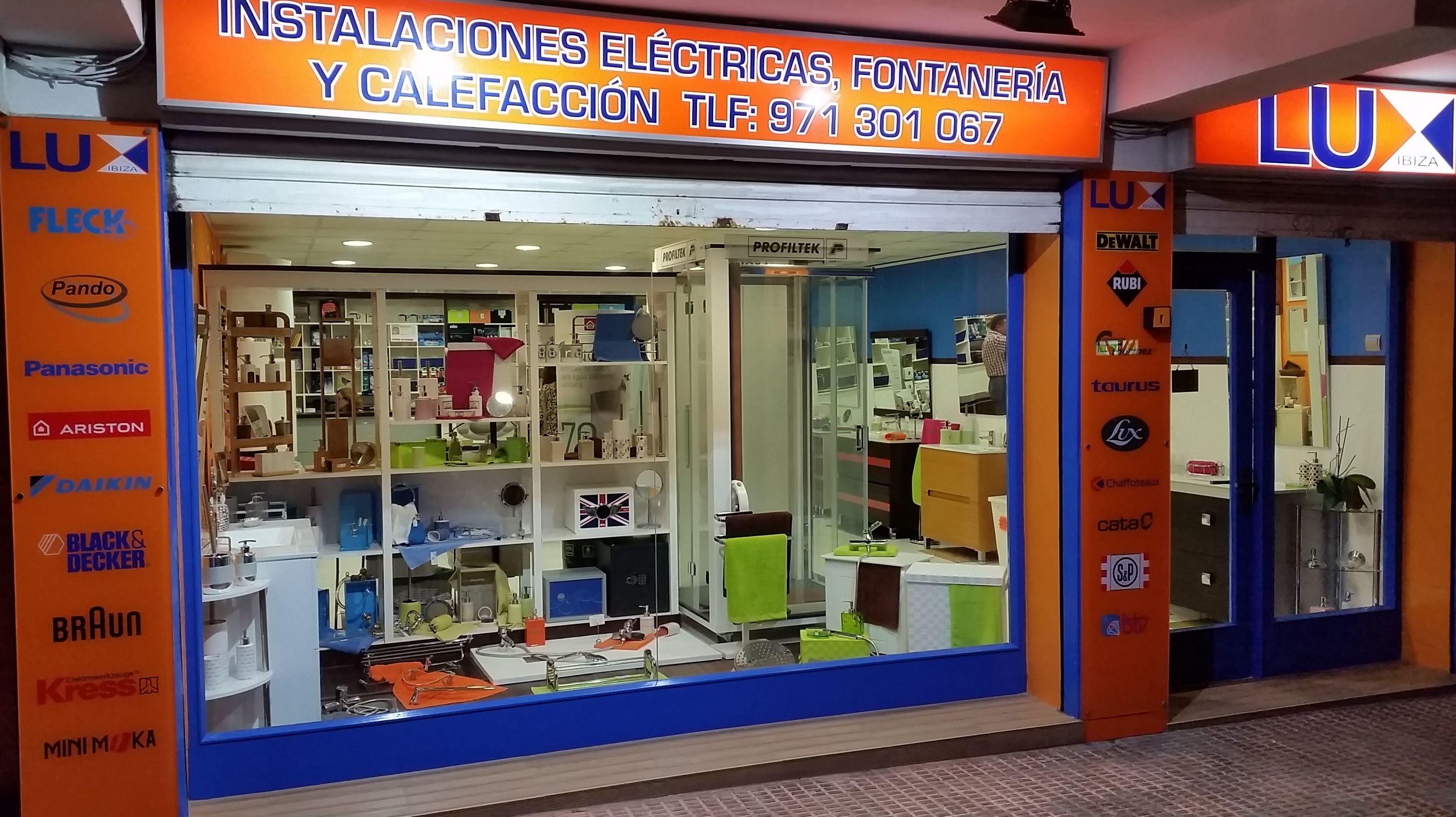Electricidad, fontanería, calefacción en Baleares