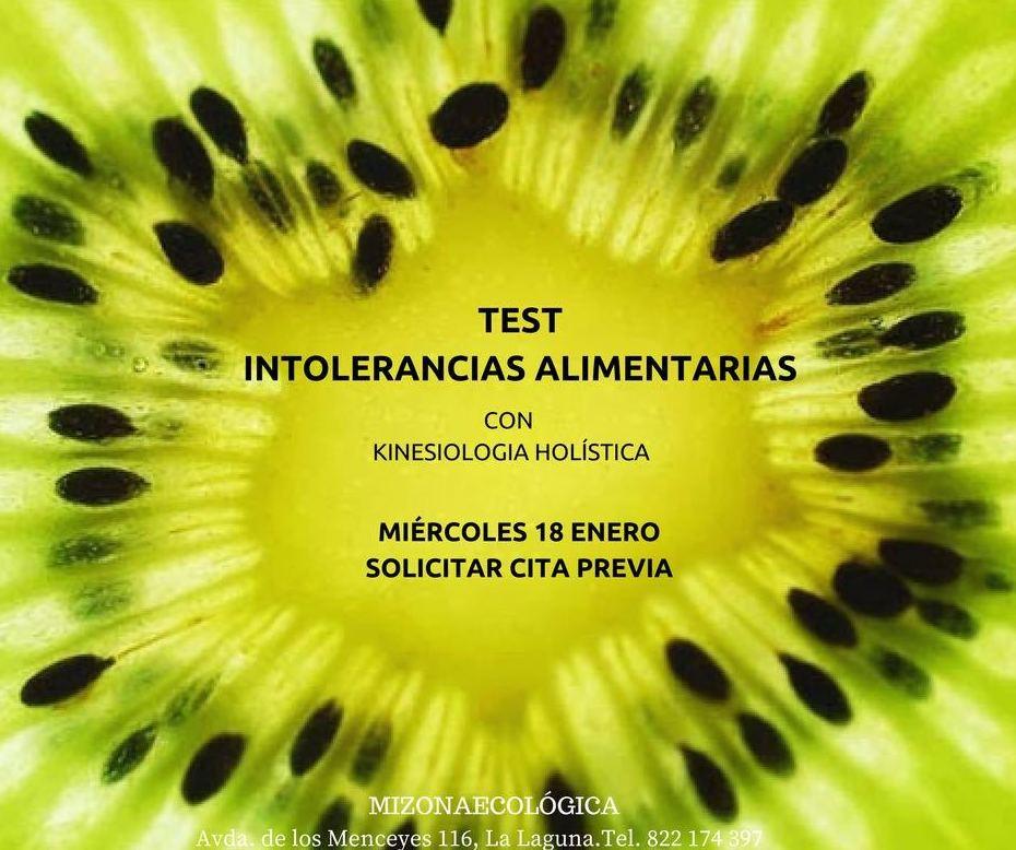 Test de Intolerancias Alimentarias