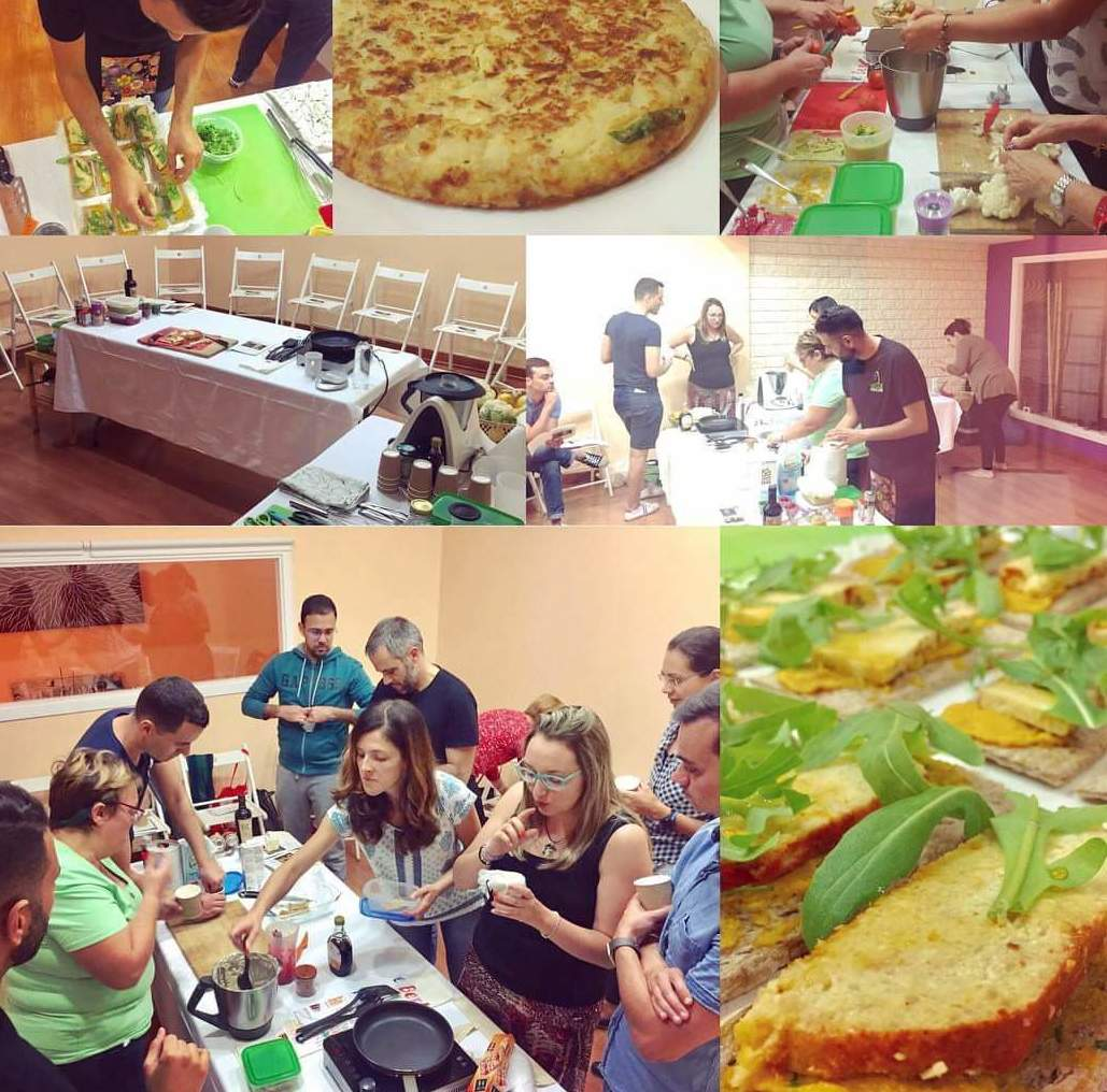 Nuestro taller de cocina vegana y sin gluten