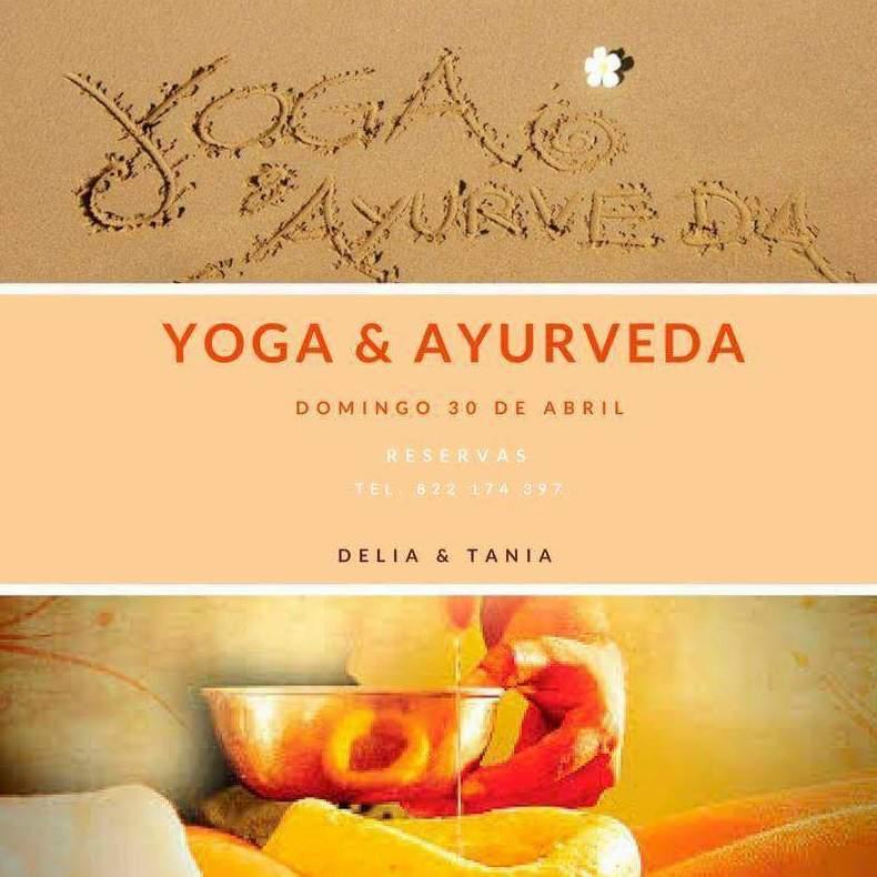 Nuestro próximo taller de Yoga y Ayurveda