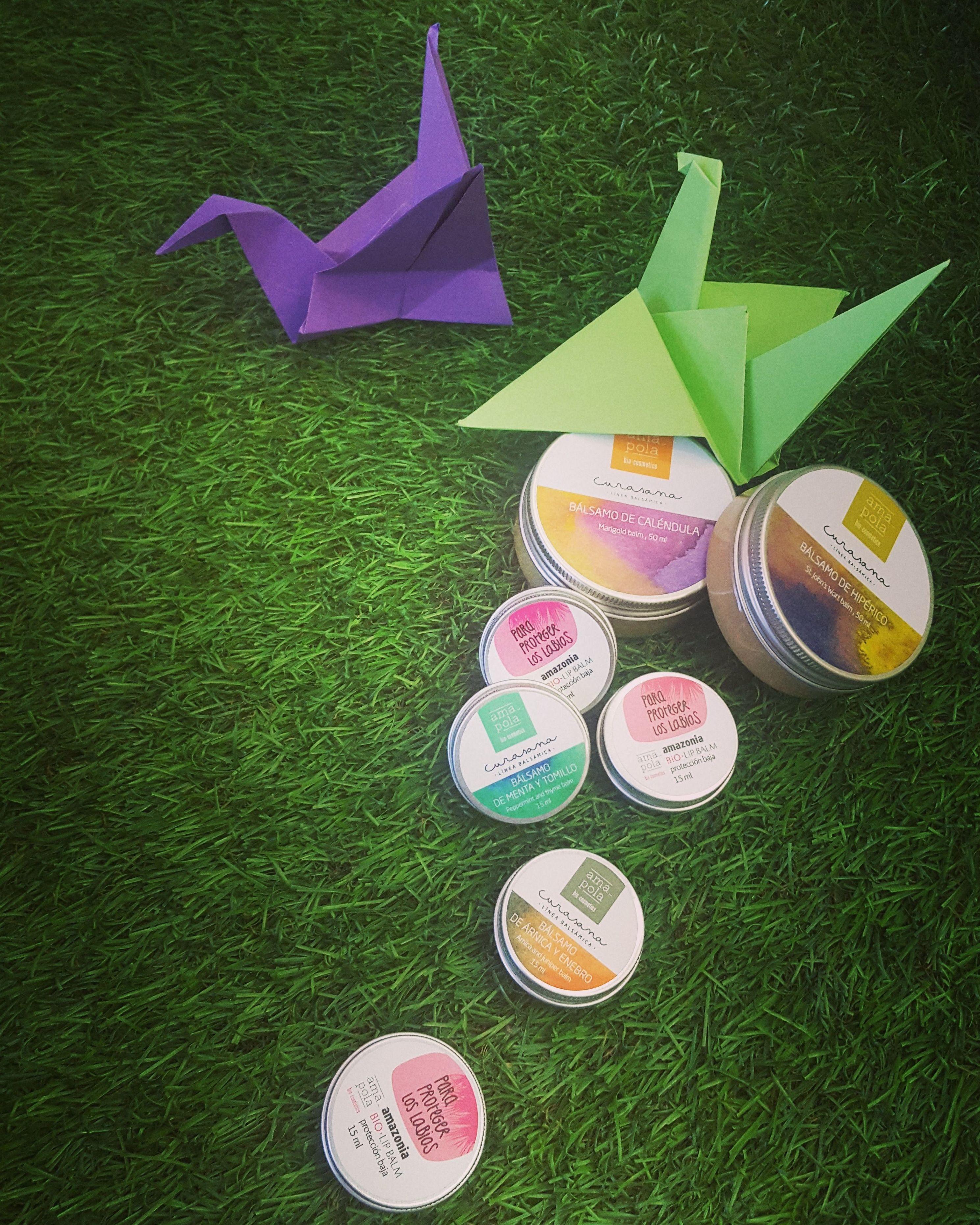 Amapola biocosmetics: cremas, bálsamos y aceites eco