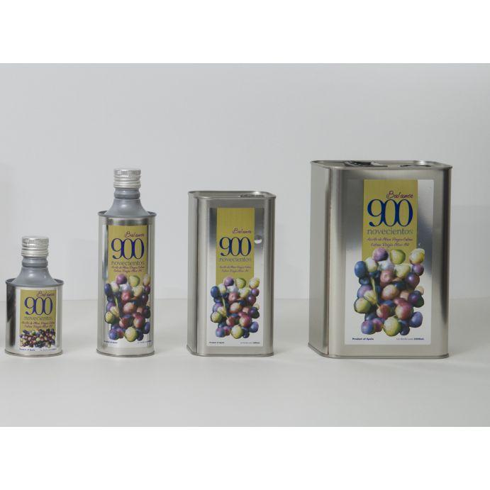 900 Balance: Aceites de Oliva Virgen Extra  de Aceites del Sur