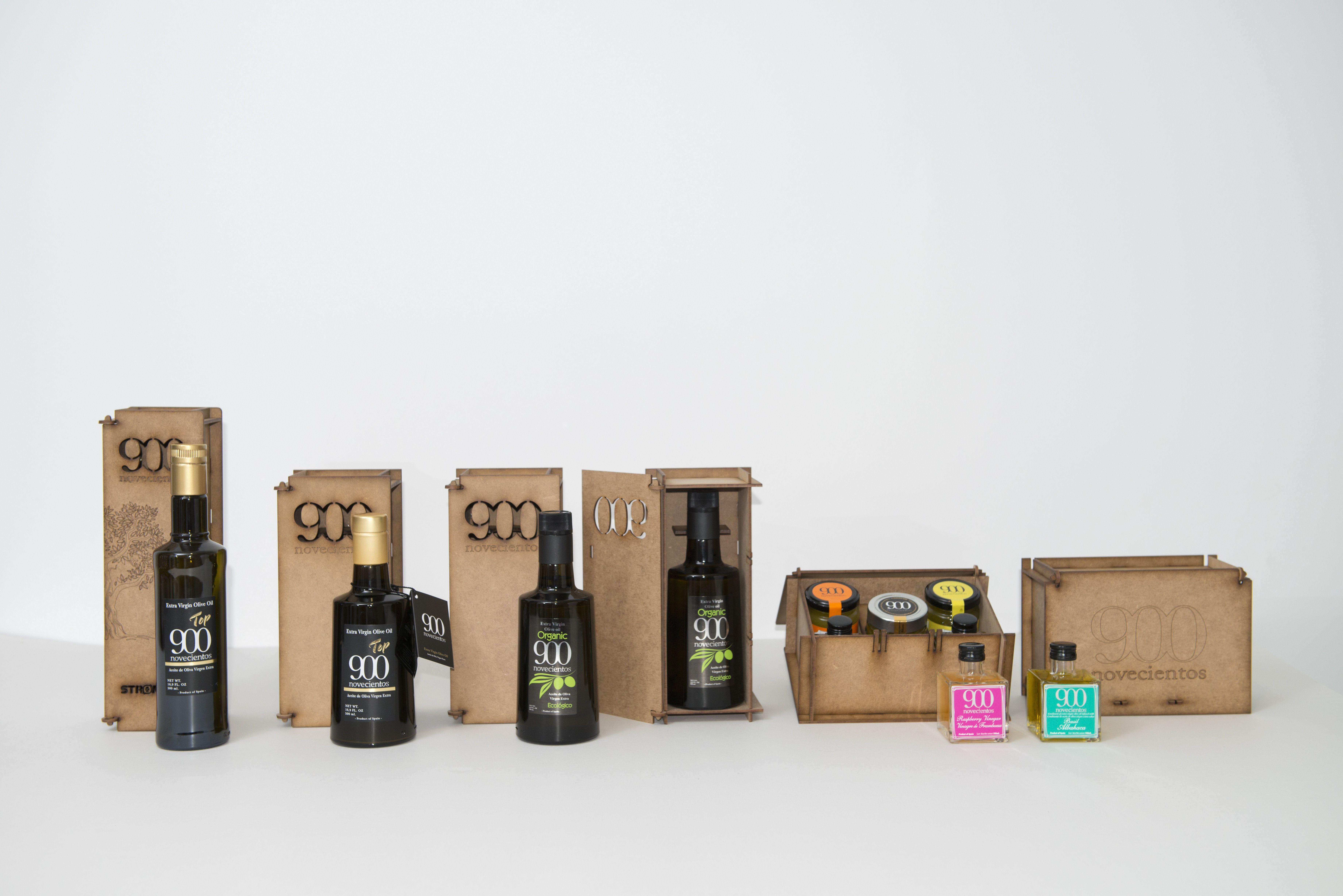 Packs de sabor, salud y diseño: Aceites de Oliva Virgen Extra  de Aceites del Sur