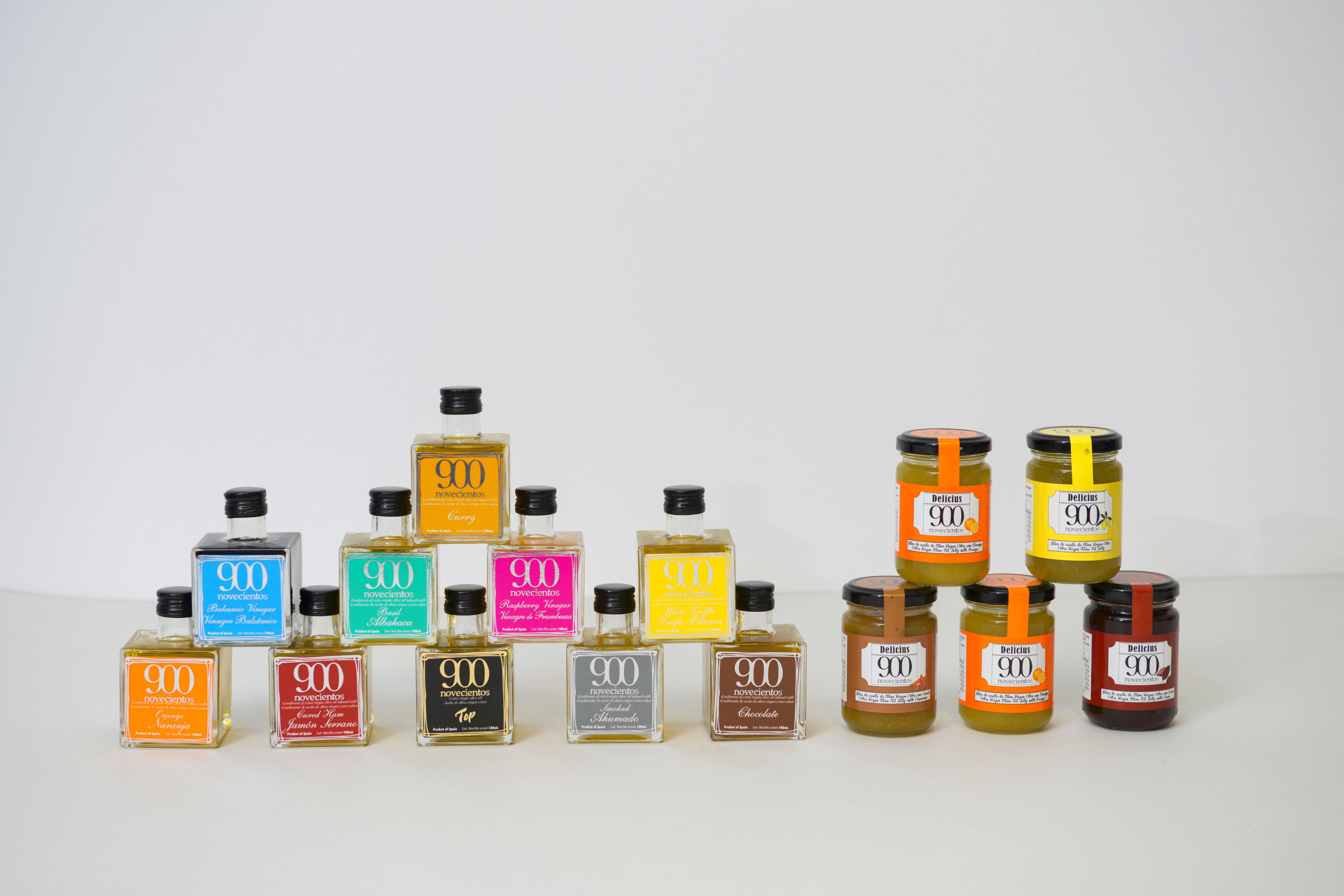 Aceites Aromatizados y Jaleas Dulces