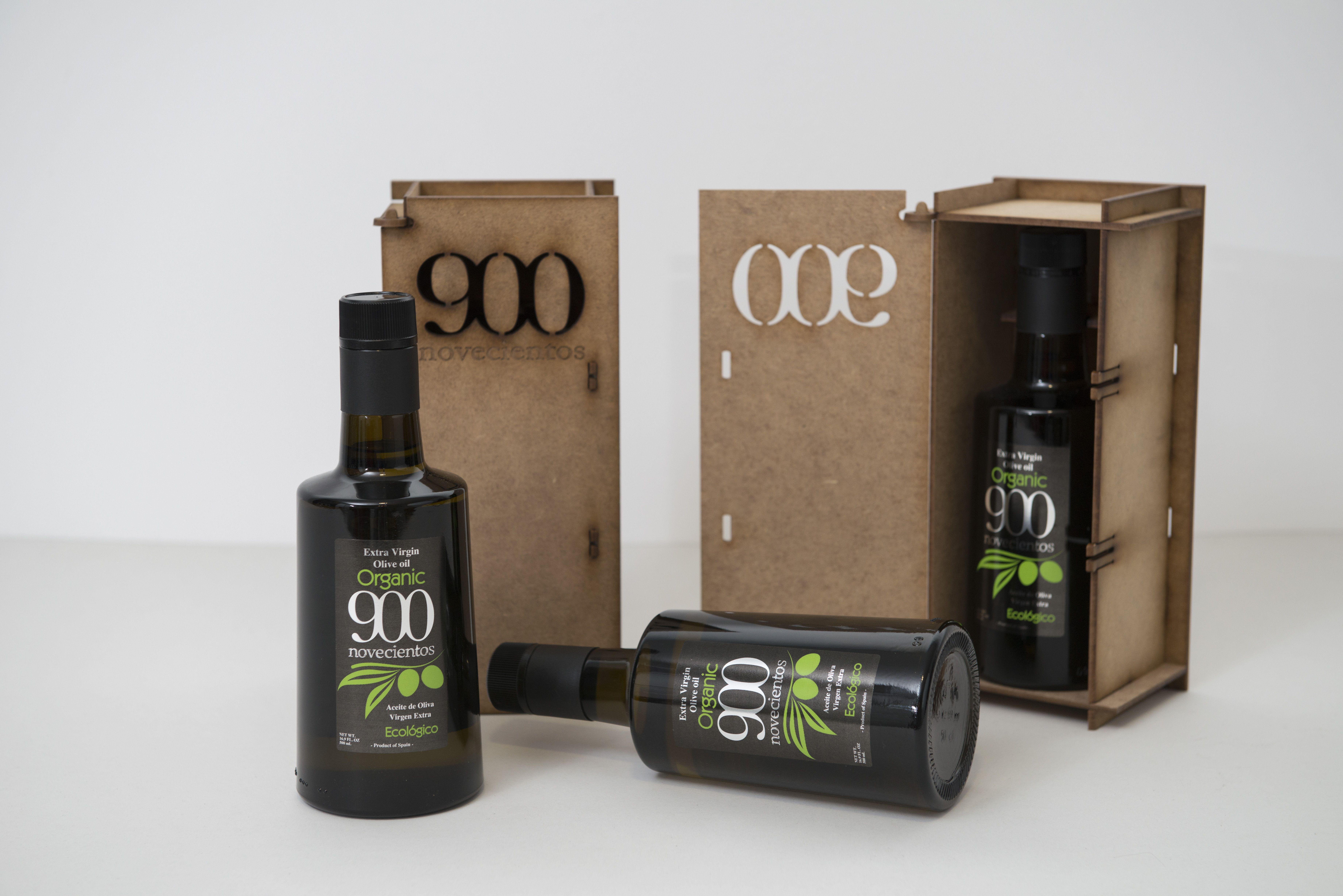 900 Organic: Aceites de Oliva Virgen Extra  de Aceites del Sur