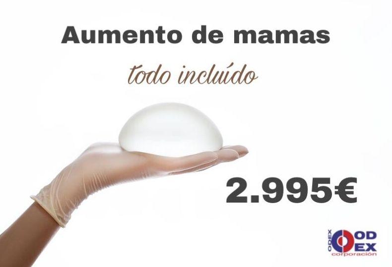 Aumento de mamas : Tratamientos estéticos de Odex Corporación