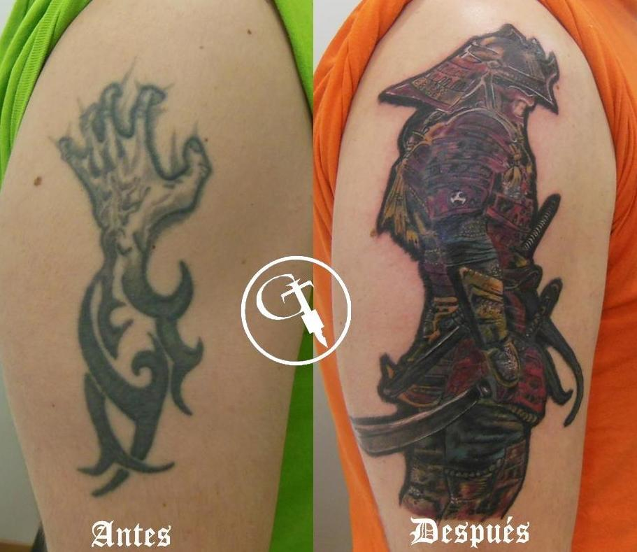 Estudio de tatuajes especializado en cover up en Logroño