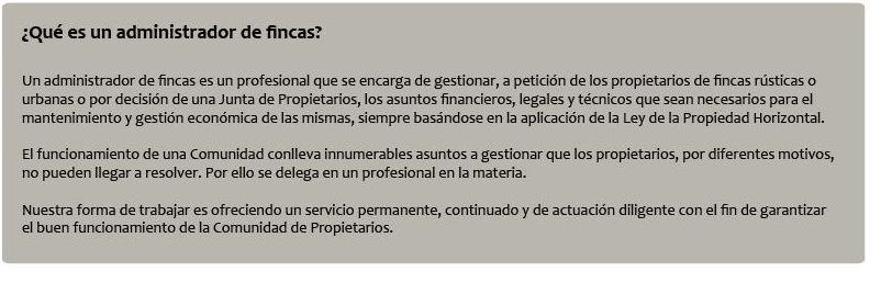 Foto 1 de Administración de fincas en Sevilla | Lexaos