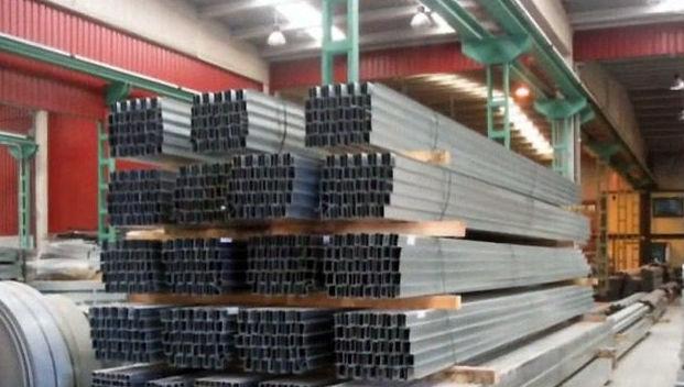 Amplia gama de perfiles en acero galvanizado