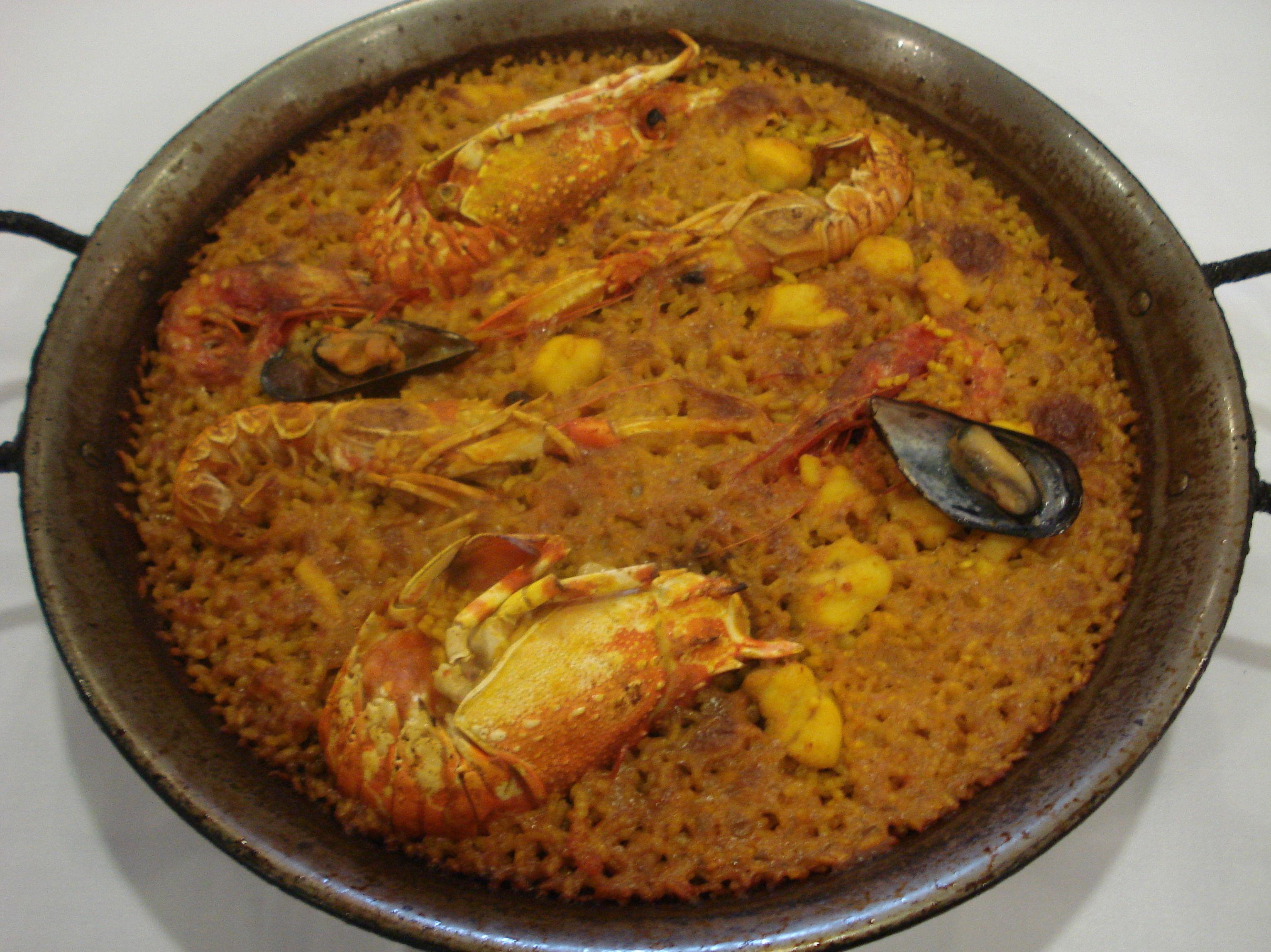 La mejor paella marinera en Valencia