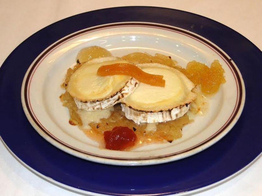 Queso de cabra con cebolla caramelizada: Especialidades de Restaurante L'Estimat