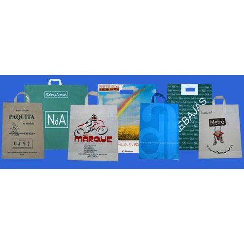 Bolsas de plástico comercio: Catálogo de Embalaje Activo, S.L. ( EMAC )