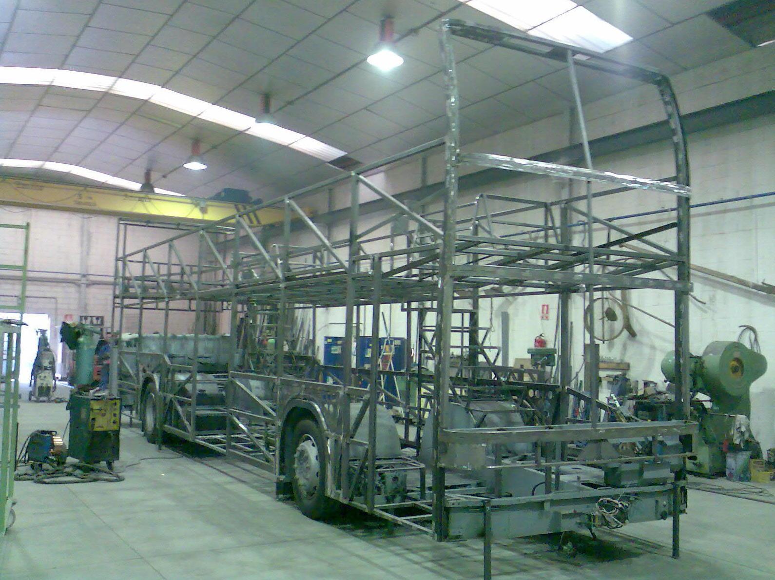 Estructuras metálicas en Zaragoza