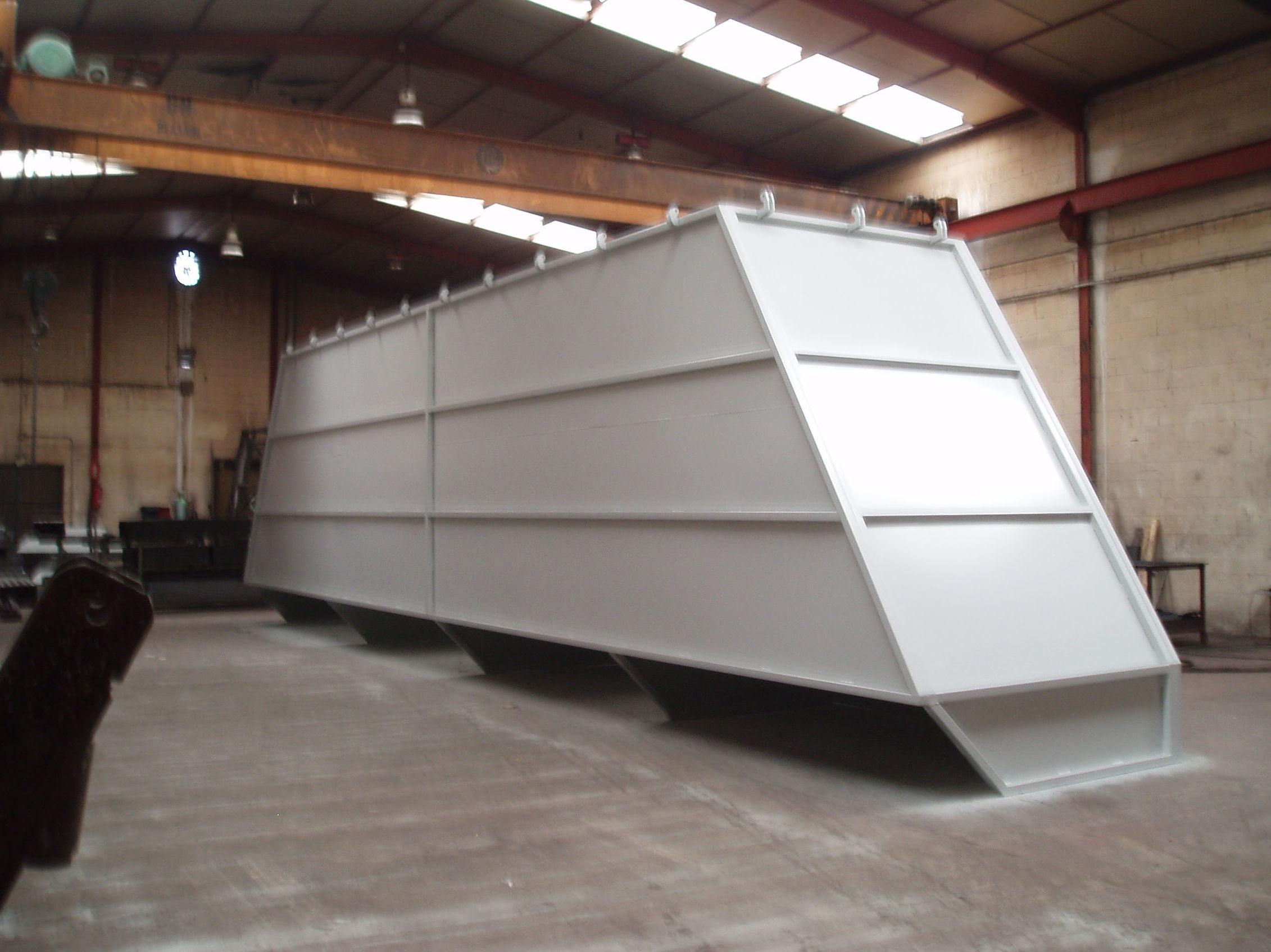 Fabricación de estructuras metálicas en Zaragoza