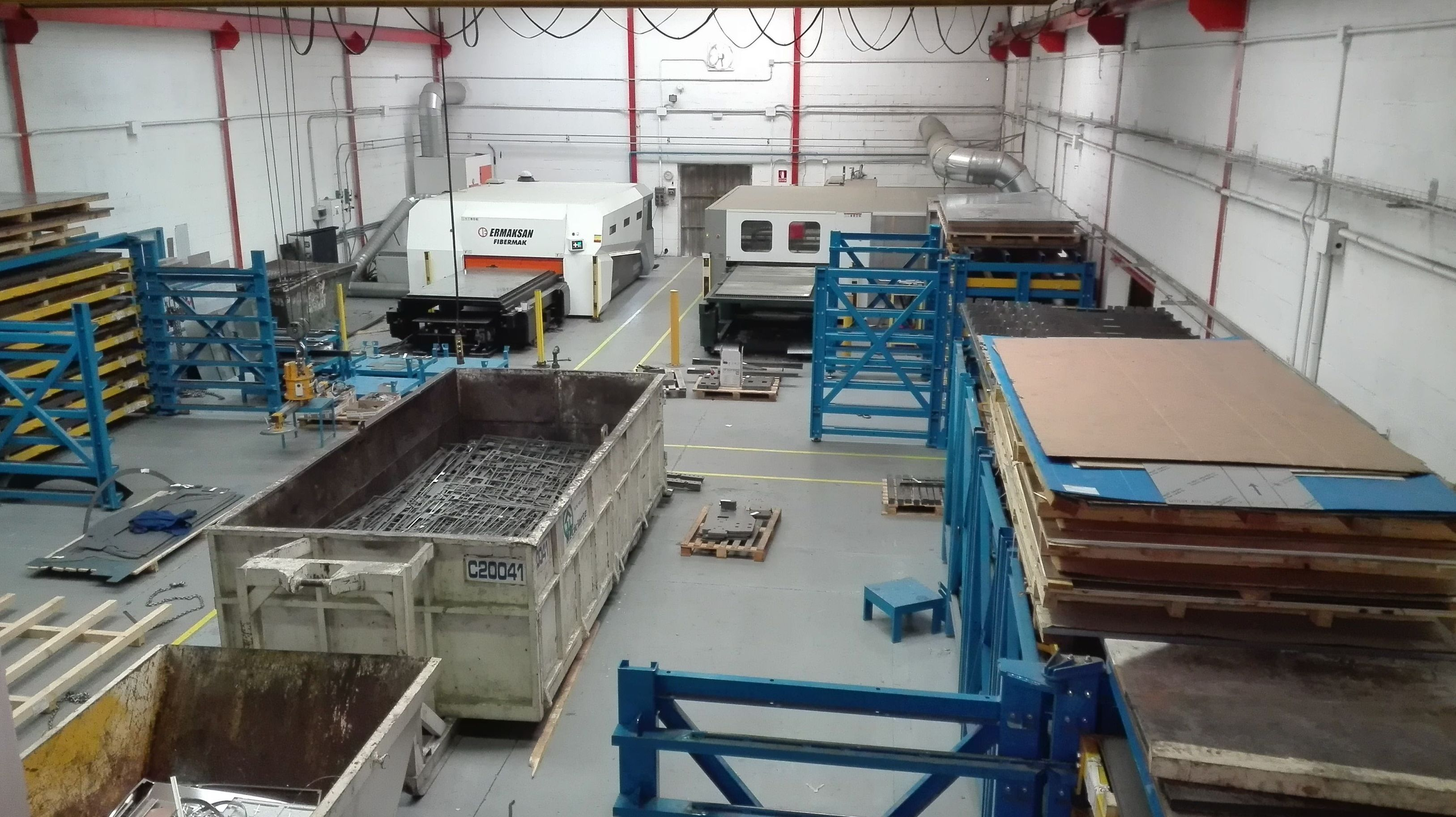 Vista del interior de nuestras instalaciones