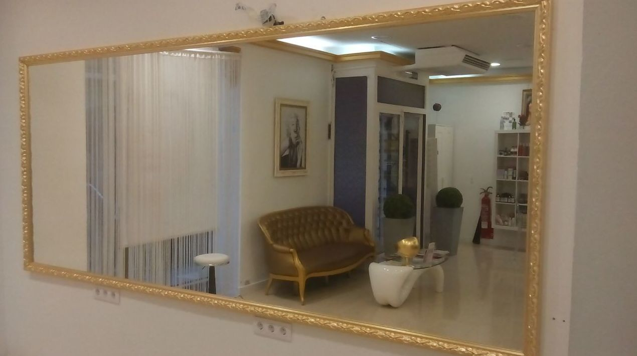 Espejos enmarcados para cualquier ubicacion.