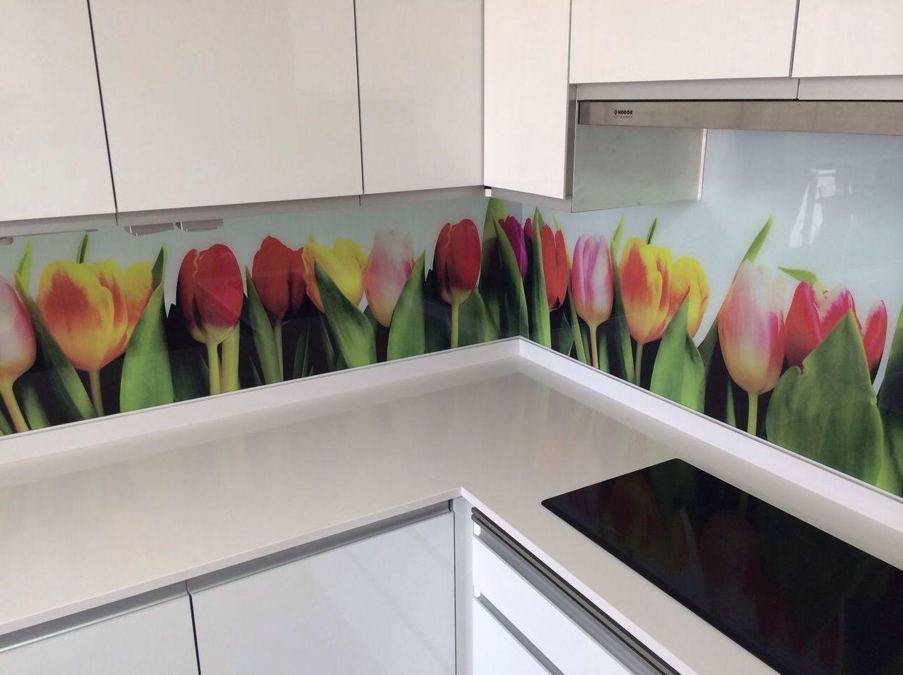 Fontales de cocina decorados.