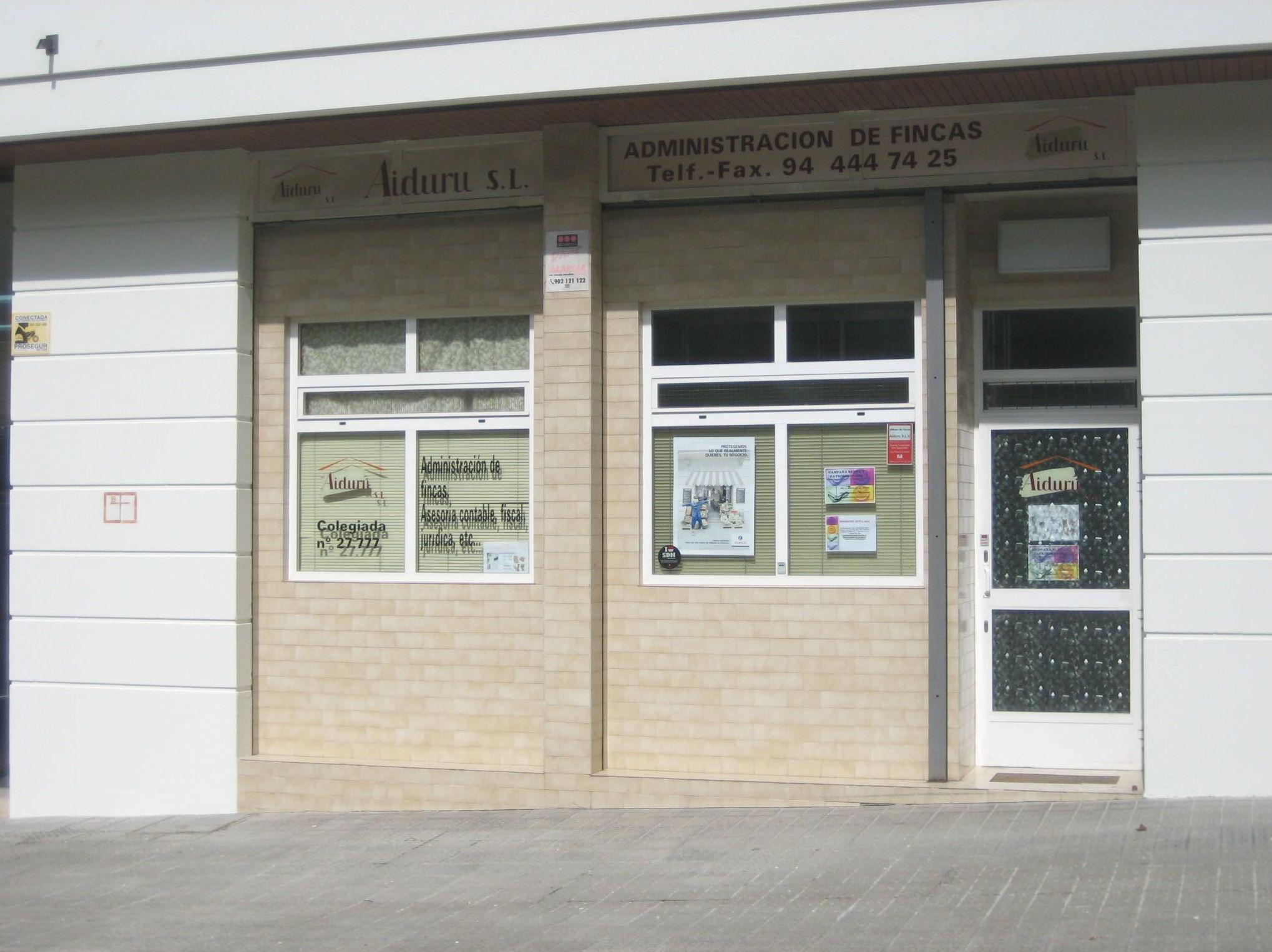Foto 3 de Administración de fincas en Bilbao | Aiduru