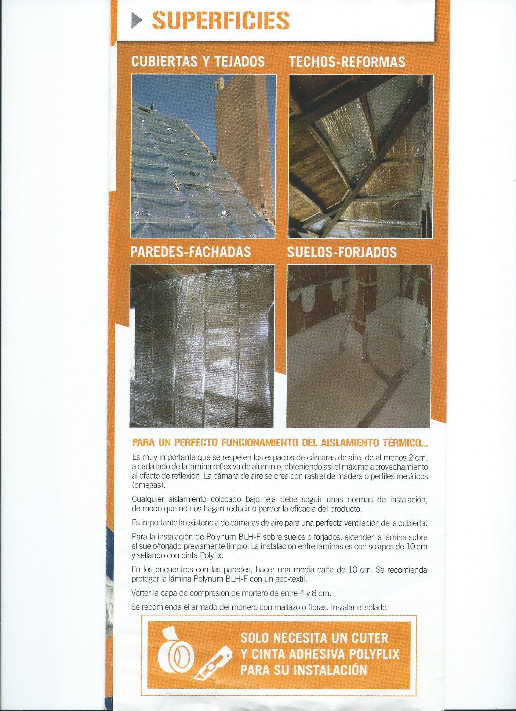Foto 222 de Aislamientos acústicos y térmicos en    Implac