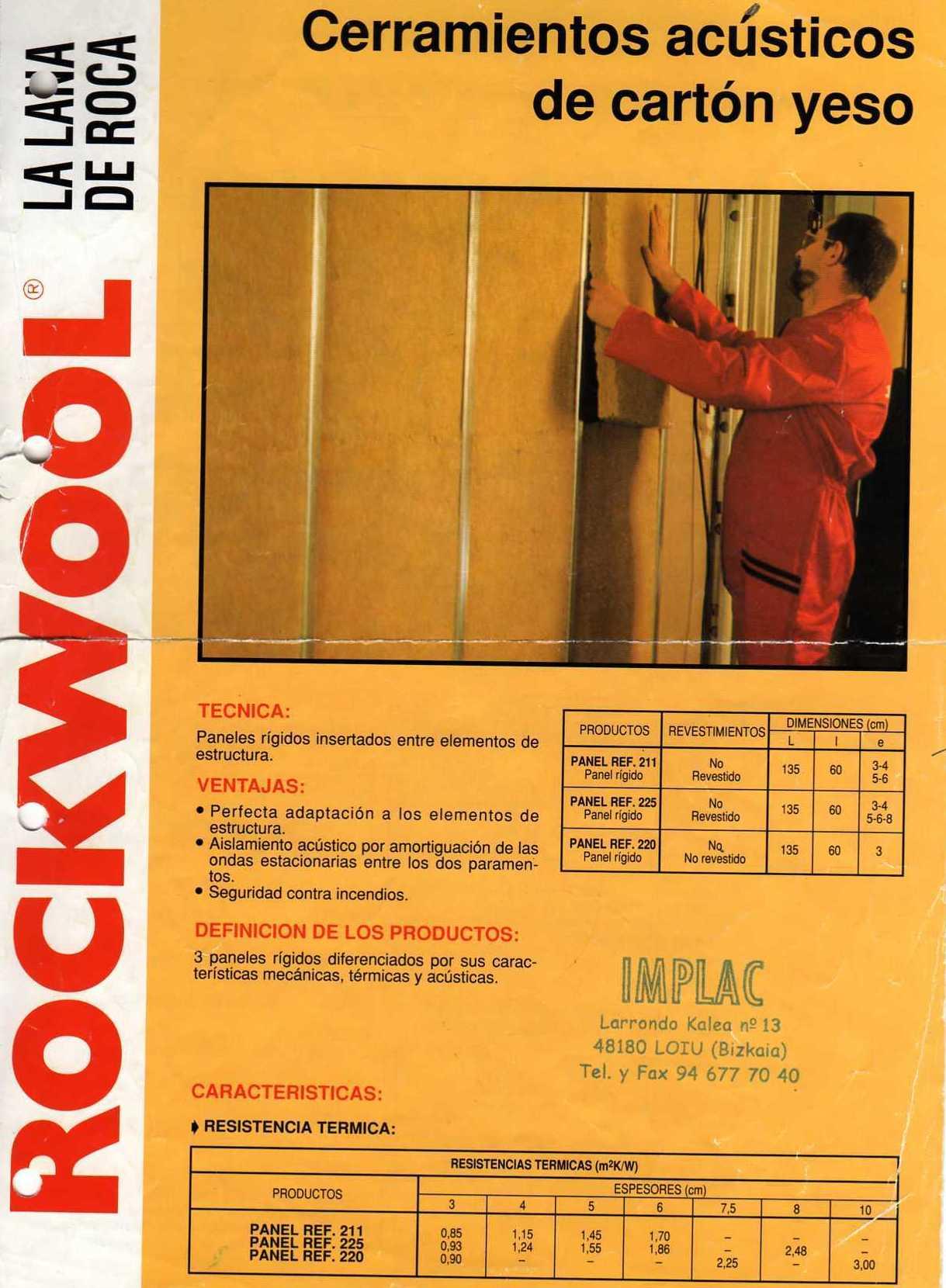 Rockwool, lana de roca
