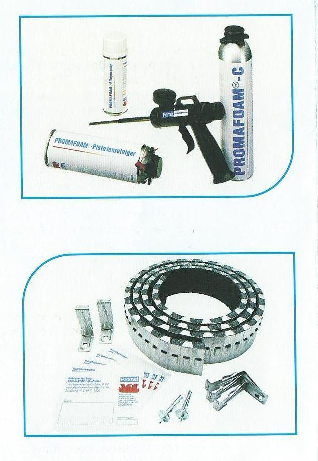 Promat, sistemas de sellado