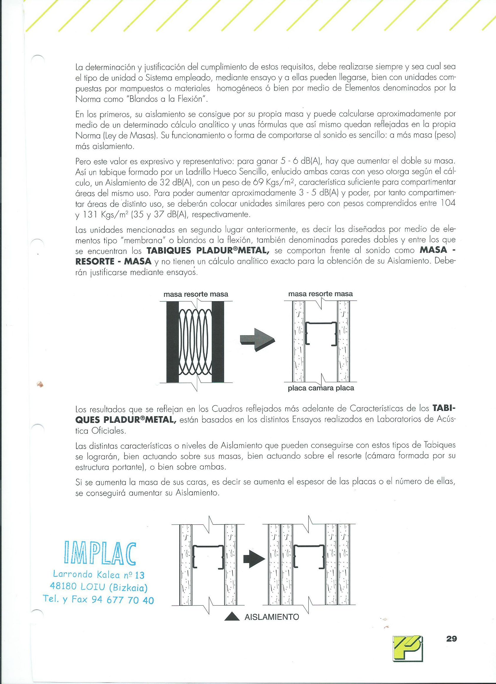 Foto 105 de Aislamientos acústicos y térmicos en  | Implac